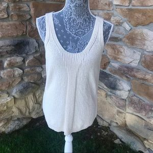Sigrid Olsen Sleeveless Knit Top